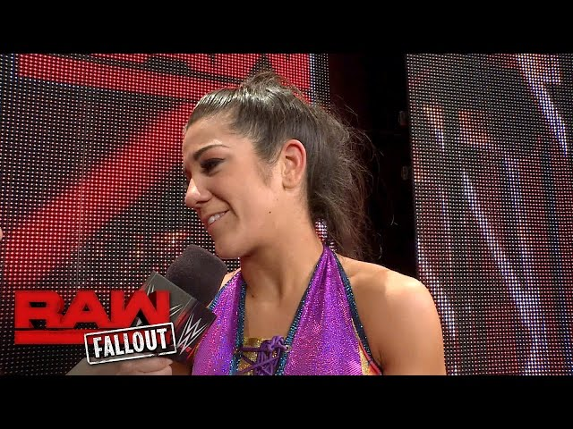 Bayley reflects on her debut night on Raw: Raw Fallout, Aug 22, 2016
