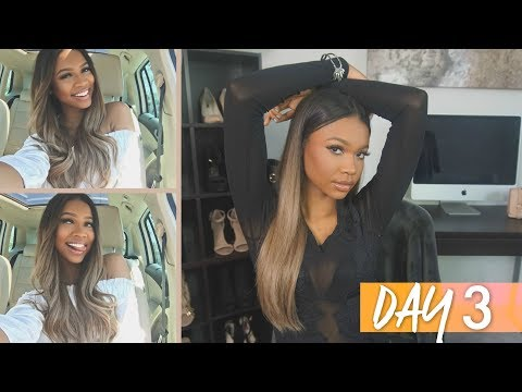#HAIRWEEK DAY 3: LOOK LIKE A SNACK SUMMER 2017   MyFantasyHair Ombre Extensions
