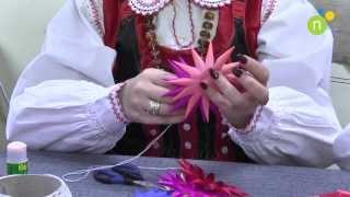 preview picture of video 'Jak zrobić samemu kurpiowskie ozdoby świąteczne'