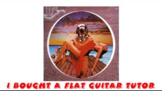 10cc - I Bought A Flat Guitar Tutor
