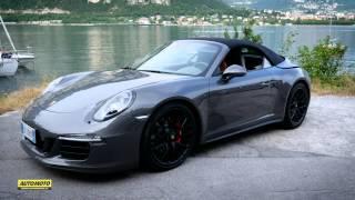 Porsche 911 Carrera 4 GTS Cabrio Test