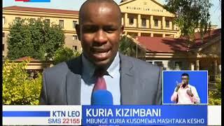 Ombi la Wakili wa Moses Kuria la kuhairishwa kusomewa mashtaka  limekataliwa