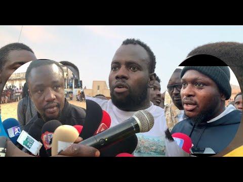 Modou Lô, Papa Sow ak Tapha Mbeur yeungueul naniou Open Press Garga 2 - combat contre Mama Lamine
