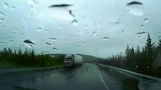 Аварии автомобилей в не погоду