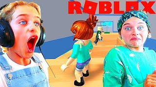CAN'T BELIEVE MY SISTER DID THIS IN ROBLOX Escape the Obby