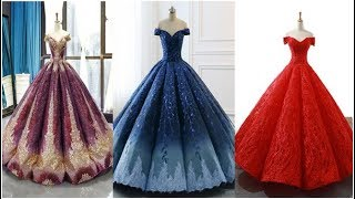 😍Top 30+ LATEST OFF SHOULDER BALL GOWN 😍 DESIGNS COLLECTION💖2020 || 👌PROM DRESS||EVENING DRESS
