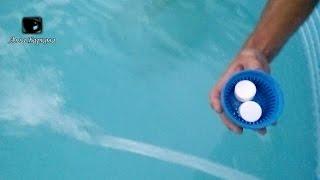 Поплавок для дезинфекции бассейна