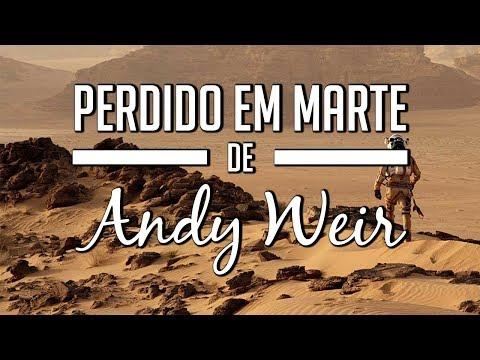 Perdido em Marte de Andy Weir + filme! (#desafiolivroseseusfilmes)