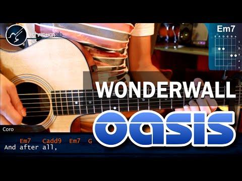 Oasis Wonderwall Tabs: Acordes para Guitarra - christianvib