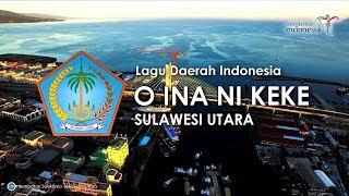 O Ina Ni Keke - Lagu Daerah Sulawesi Utara (Karaoke, Lirik Dan Terjemahan)