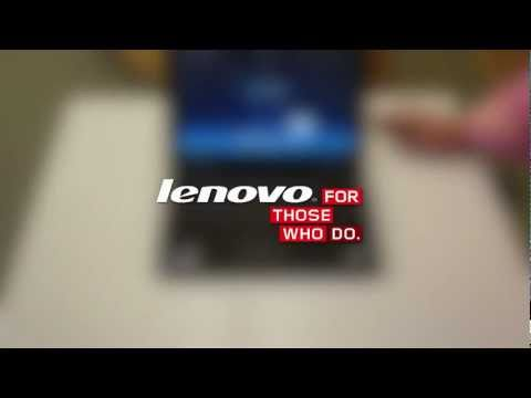 Lenovo Unboxed: ThinkPad X1 laptop