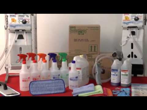 Cleaning & Disinfecting Simplified – ES72/64