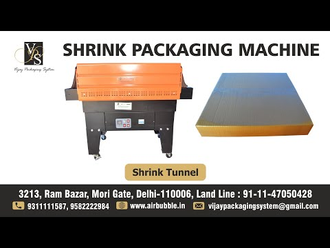 Heat Shrink Tunnel Economical Packaging Machine