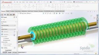 3. SolidWorks 2016: Operação Thread