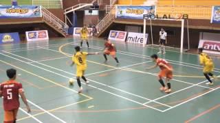 Futsal Hydro Coco Cup 2014 : semifinal SMA 4 Yogya  vs SMA 4 Banjarmasin