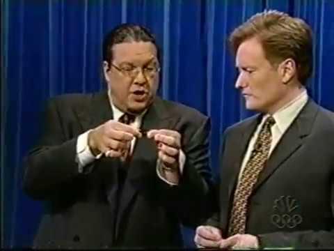 penn amp teller demonstrate sleight of hand 7 11 2001