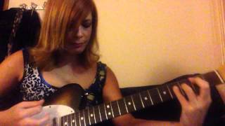 Thunderstruck  ACDC girl playing guitar