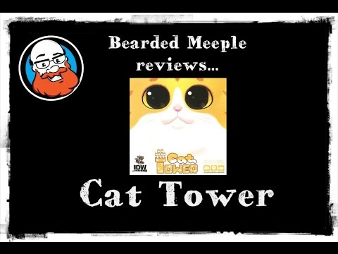 Bearded Meeple reviews Cat Tower