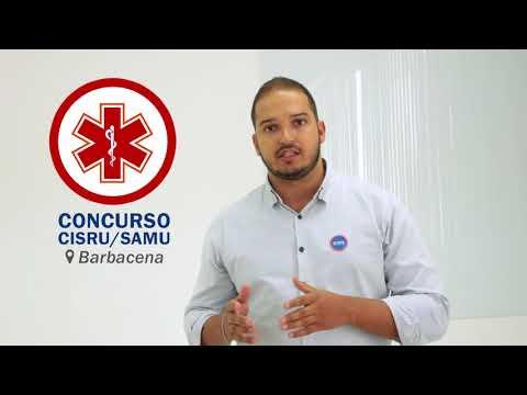 Você está preparado para o concurso do CISRU/SAMU de Barbacena?