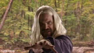 Stranger Things interview - David Harbour cross dresses as Eleven