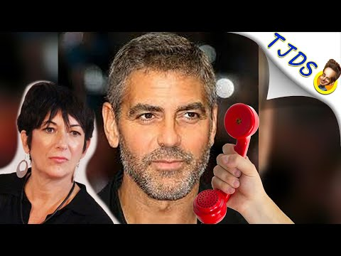 George Clooney Comes Clean About Ghislaine Maxwell!