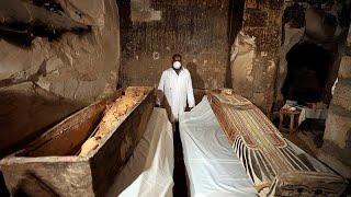 مازيكا شاهد: فتح توابيت فرعونية تعود للقرن الثالث عشر قبل الميلاد… تحميل MP3