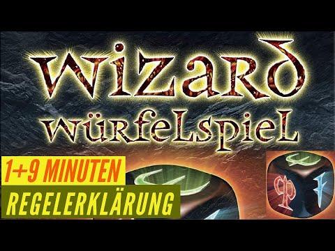 Wizard - Würfelspiel -  Regeln - Aufbau - Erklärung - Anleitung