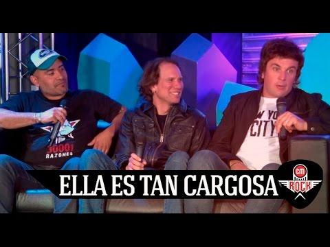 Ella Es Tan Cargosa video Entrevista CM Rock - Septiembre 2016