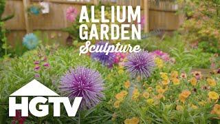 DIY Allium Garden Sculpture - Way To Grow - HGTV