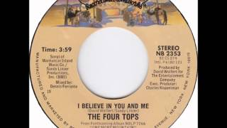 The Four Tops .     I Believe in you and me .1982.