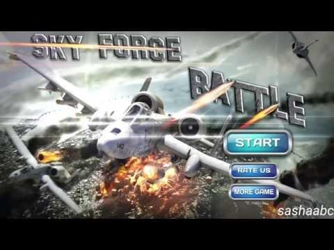 sky force battle обзор игры андроид game rewiew android.