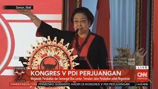 Full Pidato Politik Megawati Soekarnoputri