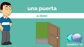 500 Spanish Nouns - Part 1 | Learn Spanish | Spanish Vocabulary | Speaksli
