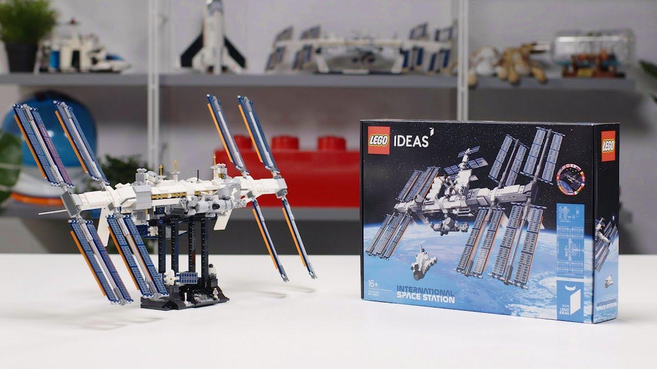 LEGO Ideas International Space Station | LEGO Designer Interview 21321