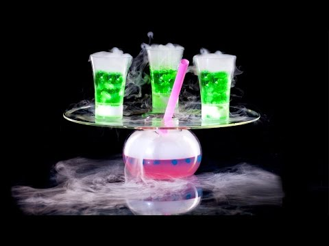 Video Dry Ice Drinks Machine | JetChill