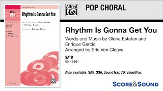 Rhythm Is Gonna Get You, arr. Eric Van Cleave – Score & Sound