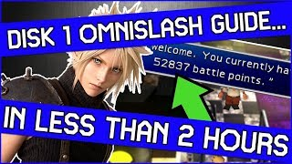 How to get Omnislash on Disk 1 in Final Fantasy 7 - It maybe easier than you expect!