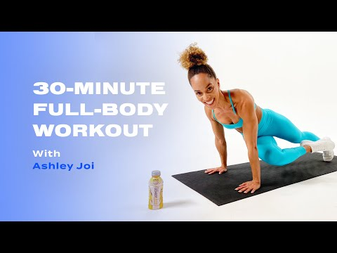30-Minute No-Equipment Full-Body Workout With Ashley Joi