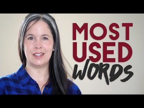 Spoken English Pronunciation of the Most Common English Words