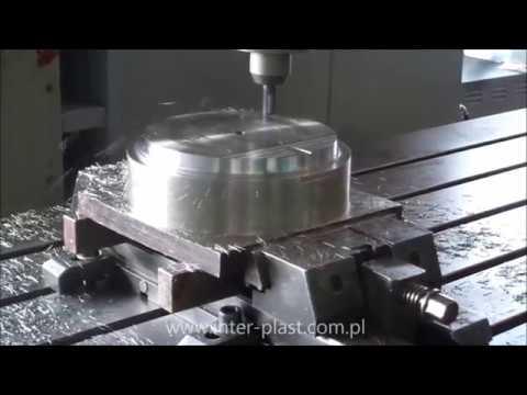 Pionowe centrum obróbcze CNC - CNC Vertical machining center - HARTFORD VMC 3060SG - Obróbka detalu - zdjęcie