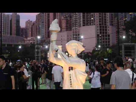 Hong Kong recuerda a las víctimas de Tiananmen