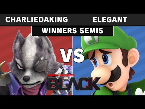 Genesis Black - Charliedaking (Wolf) Vs NVR   Elegant (Luigi) Winners Semi - Smash Ultimate