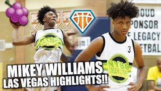 MIKEY WILLIAMS GETS BUSY IN SIN CITY!!   Top Ranked RISING FRESHMAN is Ready to DOMINATE High School