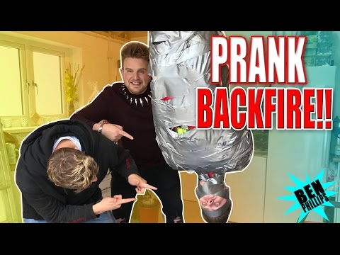 ULTIMATE HUMAN DUCT TAPE! **PRANK**
