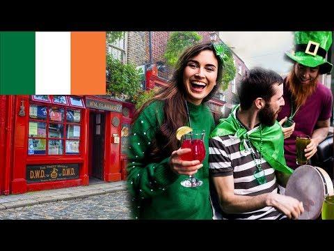 Ирландия. Интересные Факты об Ирландии! видео