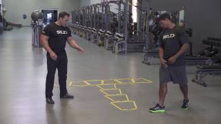 SKLZ Agility Trainer Pro: Perpendicular Drill