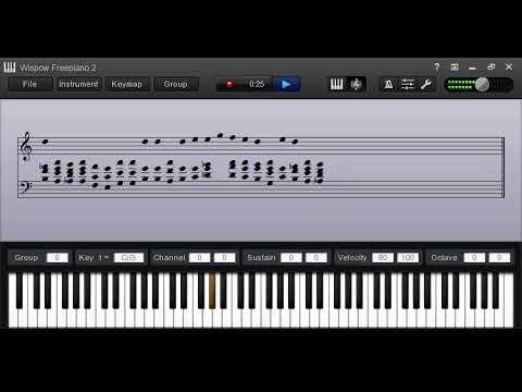 DROP 2 PIANO TECHNIQUE PASS ME NOT OH GENTLE SAVIOUR TUTORIAL
