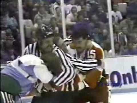 Paul MacLean vs. Claude Loiselle