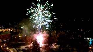 preview picture of video 'Franklin Light Up Night Fireworks2014'