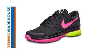 Nike Zoom Vapor Flyknit QS Men's Tennis Shoe video